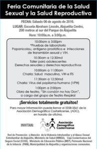 Festival de la Salud Sexual y Reproductiva