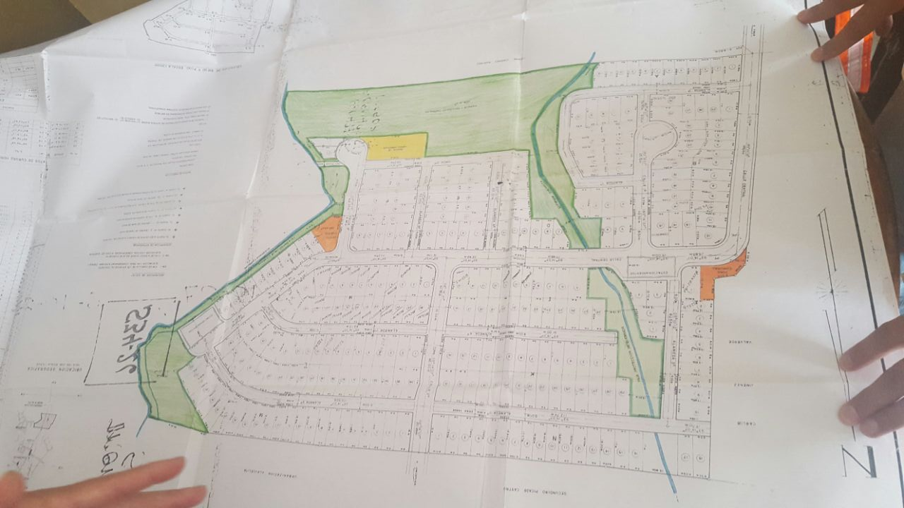 Las áreas de color verde son las que demanda la comunidad para la recreación.